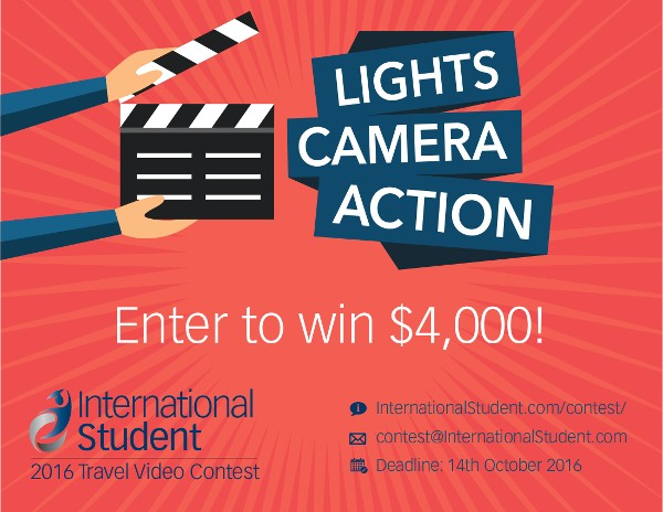 2016 Travel Video Contest poster