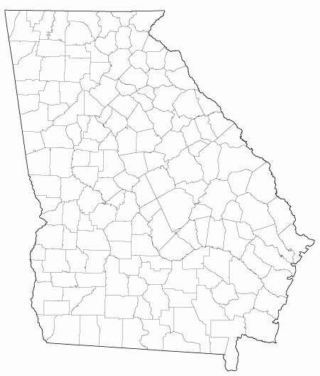 State Of Georgia County Map.Study In Georgia Guide Study In The Usa