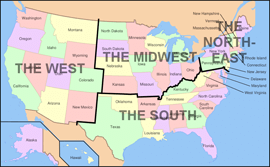 Where To Study Fine Arts Study Fine Arts In The US - Artistic map of us
